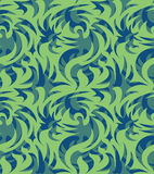 Абстрактная безшовная органическая картина также вектор иллюстрации притяжки corel Стоковые Изображения RF