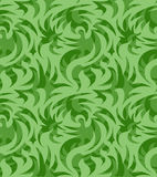 Абстрактная безшовная органическая картина также вектор иллюстрации притяжки corel Стоковые Фотографии RF