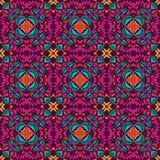Абстрактная безшовная орнаментальная картина Стоковое фото RF