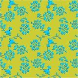 Абстрактная безшовная предпосылка цветка Стоковое Изображение