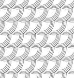 Абстрактная безшовная предпосылка волны иллюстрация штока