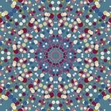 Абстрактная безшовная предпосылка с точками Стоковое Фото