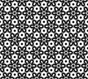 Абстрактная безшовная светотеневая картина Стоковая Фотография