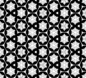Абстрактная безшовная светотеневая картина Стоковая Фотография RF