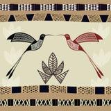 Абстрактная безшовная текстура с изображением бамбука Стоковые Фото
