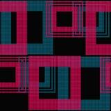 Абстрактная безшовная checkered картина шотландки Стоковое Изображение