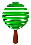 абстрактная белизна вала зеленого цвета предпосылки Бесплатная Иллюстрация
