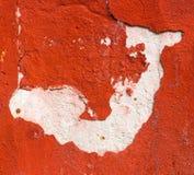 Абстрактная белая диаграмма на красном гипсолите Стоковые Изображения RF