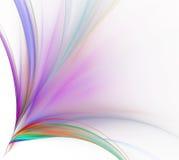 абстрактная белизна предпосылки Красочные взрыв или пук радуги Стоковые Фото