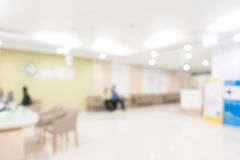 Абстрактная больница нерезкости стоковое изображение rf