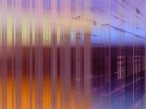 абстрактная бритва занавеса Стоковое фото RF