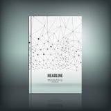 Абстрактная брошюра 01 a Стоковые Изображения RF