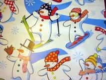 абстрактная бумага подарка cristmas Стоковые Фото