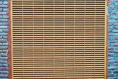 Абстрактная вентиляция предпосылки на конце стены вверх стоковые фото
