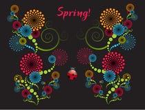 абстрактная весна Стоковые Фото