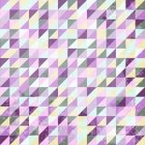 Абстрактная винтажная предпосылка треугольников Стоковые Фото