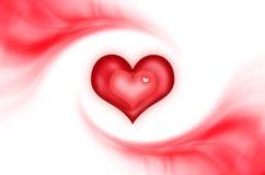 абстрактная влюбленность предпосылки Стоковое Изображение RF