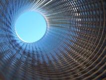 абстрактная внутренняя труба 3 стоковое изображение rf