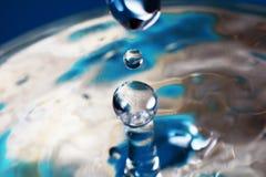 абстрактная вода выплеска Стоковое фото RF