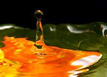 абстрактная вода падения предпосылки Стоковые Изображения RF