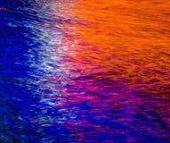 абстрактная вода предпосылки Стоковая Фотография RF