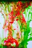 абстрактная вода чернил Стоковое Изображение