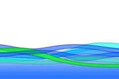 абстрактная волна предпосылки Стоковые Фото