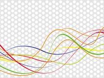 абстрактная волна предпосылки Стоковое Изображение