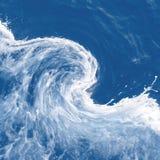 абстрактная волна предпосылки Стоковое фото RF