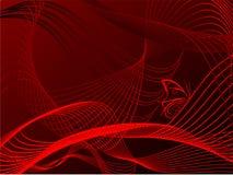 абстрактная волна предпосылки Стоковая Фотография