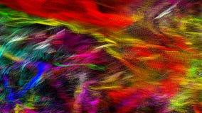 Абстрактная волнистая и красочная предпосылка иллюстрации, освещает запачканное влияние Стоковые Фото