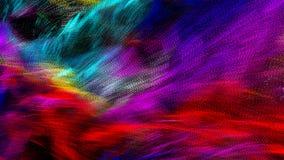 Абстрактная волнистая и красочная предпосылка иллюстрации, освещает запачканное влияние Стоковые Фотографии RF