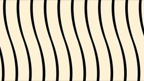 Абстрактная волнистая поверхность, приближение узких вертикальных лиРбесплатная иллюстрация