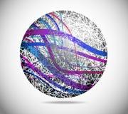 абстрактная волшебная сфера Стоковые Изображения