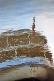 абстрактная вода отражения Стоковое Изображение