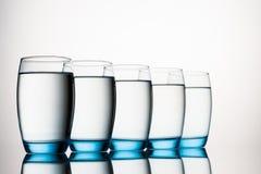 абстрактная вода фото синих стекол стоковые изображения