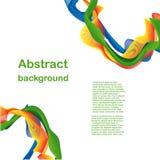 абстрактная волна конструкции Иллюстрация штока