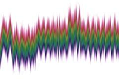 Абстрактная волна спектра Стоковое Фото