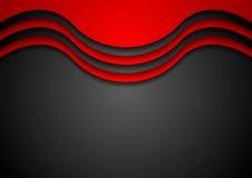 Абстрактная волнистая корпоративная предпосылка Стоковые Фотографии RF