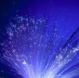 абстрактная волоконная оптика связи предпосылки Стоковое Изображение RF