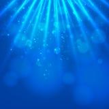 Абстрактная волшебная светлая предпосылка Стоковая Фотография RF