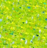 абстрактная выразительная картина Стоковые Изображения