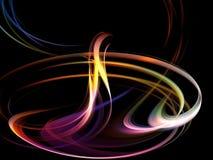 абстрактная габаритная свирль 3 Стоковое Фото