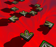 абстрактная ГДР Стоковое фото RF