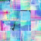Абстрактная геометрическая безшовная акриловая предпосылка Стоковое Изображение RF