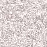 Абстрактная геометрическая безшовная картина. Вектор Стоковые Изображения RF