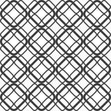 Абстрактная геометрическая безшовная картина предпосылки Стоковые Фото