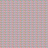 Абстрактная геометрическая безшовная картина с пастельными треугольниками Стоковая Фотография
