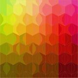 Абстрактная геометрическая безшовная картина Стоковое фото RF