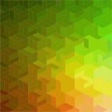 Абстрактная геометрическая безшовная картина Стоковые Изображения RF